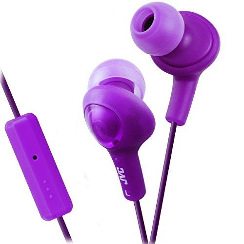 JVC HAFR6V Gumy Plus Hochwertige Kopfhörer (Violett) Jvc Gumy Phones