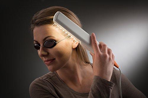 Saalux® UV-Lichtkamm (UV-B) – inkl. Schutzbrille und Timer, UV Kamm - 6