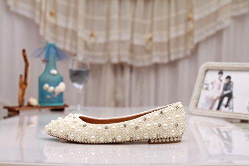 Minitoo , Ballet femme Blanc - Ivory-Pearl