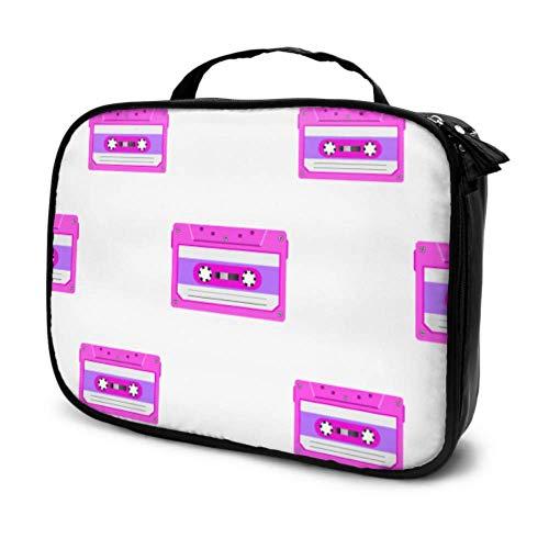 Fashion Cosmetic Bag    ❤️- ¡Abre nuestra bolsa de cosméticos, haz un hermoso maquillaje, comienza un día maravilloso, un nuevo viaje!   ❤️- Fácil de llevar, ya sea que estés a diario de viaje o en viajes de negocios, puede llevar esta bolsa de maqui...