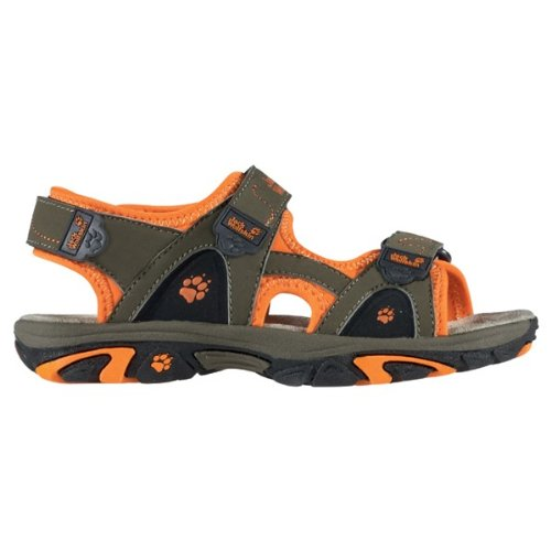 Jack Wolfskin Schuhe Sandalen Kids Water Rat 4006811 Khaki Orange granite, Größe:27