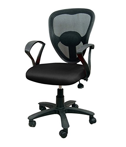 R.B Furniture Angel-02 Office Chair (Black)