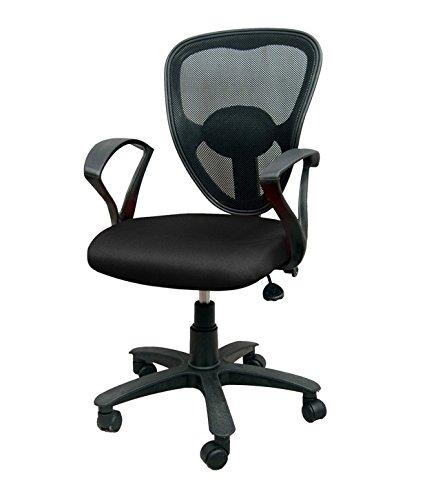 R.B Furniture Angel-02 Office Chair (Black)
