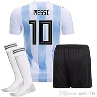maillot MESSI Argentine Coupe du Monde 2018 SUPERBE en T12 ANS 150 CM environ avec le SHORT et CHAUSSETTES modele Répliqua autorisé Fan Version