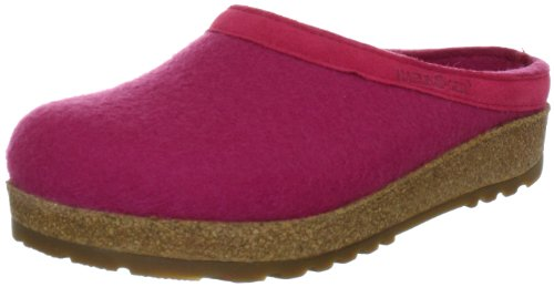 Haflinger Torben, Chaussons Mules Mixte adulte Rose (Rose-TR-H5-55)