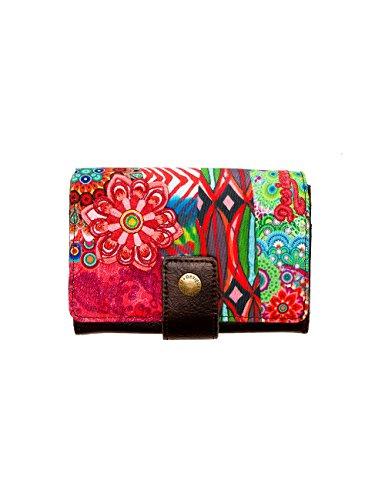 Desigual Mone Lengueta Seduccio Carry, Portefeuille - Multicolore (7005 Caldera), Taille Unique