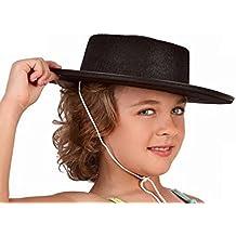 Sombrero cordobés infantil - Negro, Unica