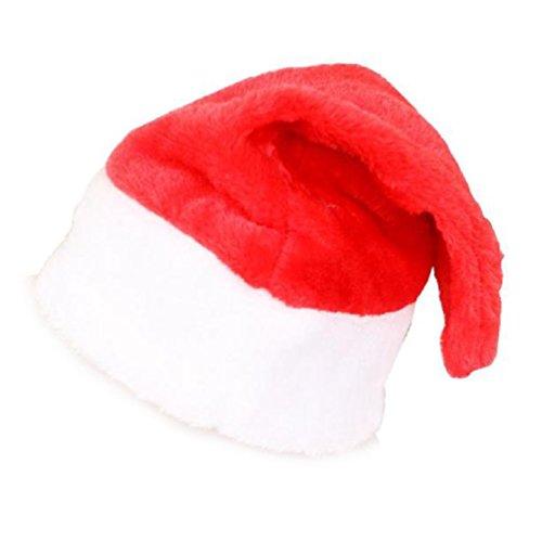 SMARTLADY Unisex Xmas Sombrero, Feliz Navidad Papá Noel Fiesta Rojo Gorra (Niño)