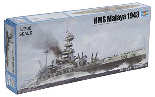 Zoom IMG-1 trumpeter modellino nave da guerra