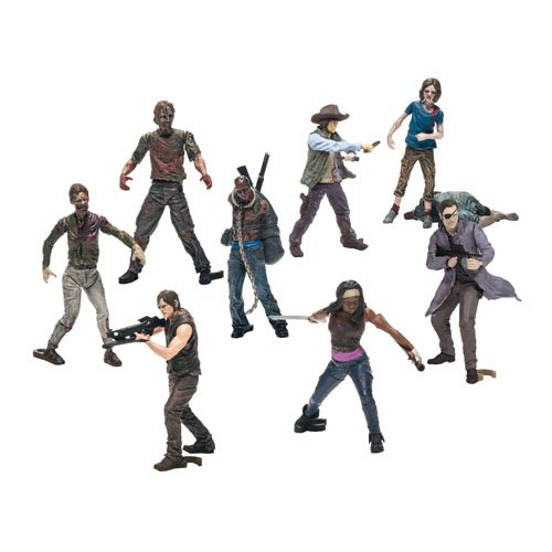 Preisvergleich Produktbild Walking Dead Tv Building Set Bmb Figures