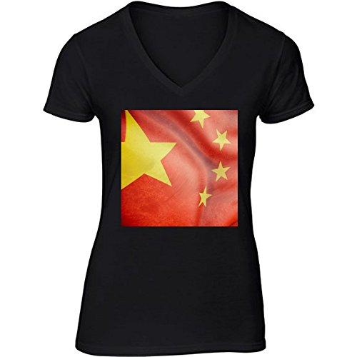t-shirt-nero-scollo-a-v-donne-taglia-l-china-flag-by-giordanoaita