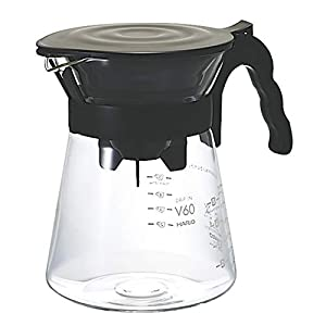 Hario V60 Glass Drip in Pour-Over Coffee