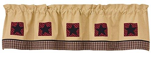 Park Designs Ma Maison de Campagne Coton doublé 152,4 x 35,6 cm doublé Patch Frange