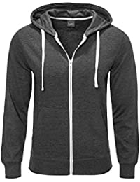 JACK & JONES Herren Sweatjacke Jorholmen Sweat Zip Hood Noos