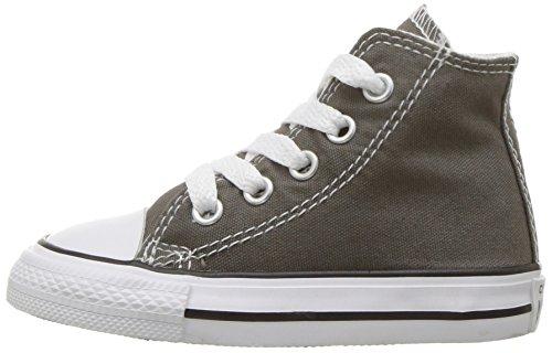 Converse Chuck Taylor All Star Season Hi, Unisex Sneaker, Charcoal, 25 EU - 5