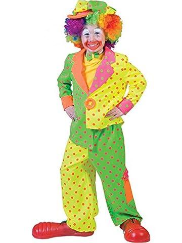 Buntes Clowns-Kostüm für Kinder 152/164 (12-14 Jahre)