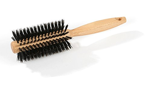 luqx Cabello Cepillo Especial Cepillo – Cepillo redondo y cerdas de pelo de  jabalí 55221f710022