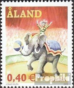 Prophila Collection Finnland - Aland 208 (kompl.Ausg.) 2002 Zirkus (Briefmarken für Sammler) Zirkus