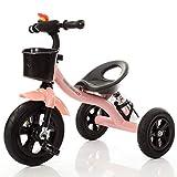 La Bicicleta Infantil Rosa, Triciclo de Tobillo para niños, Adecuado para niñas de 3-6 años
