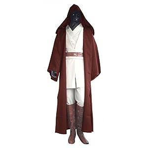 shoperama Deluxe Star Wars Herren Kostüm Obi-Wan Kenobi Komplettset Jedi 9-Teilig