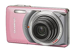 Olympus Mju 7010 Digital Compact Camera -Candy Pink (12MP, 7x Wide Digital Zoom) 2.7 inch LCD