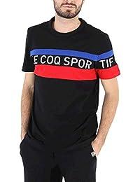 Le Coq Sportif Tri tee SS N 5 Black