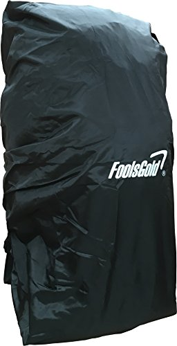 Foolsgold copertura impermeabile per escursionismo zaini (50l - 120l) - nero