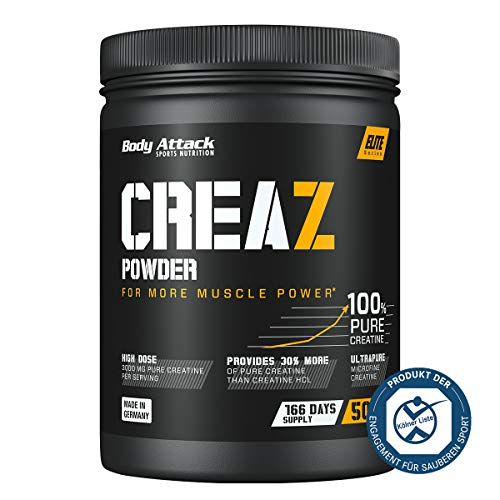 Body Attack CREAZ Powder, 1er Pack (1 x 500 g)