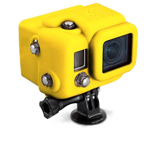 XSories - Funda de silicona con visera para cámara GoPro HD HERO3,...