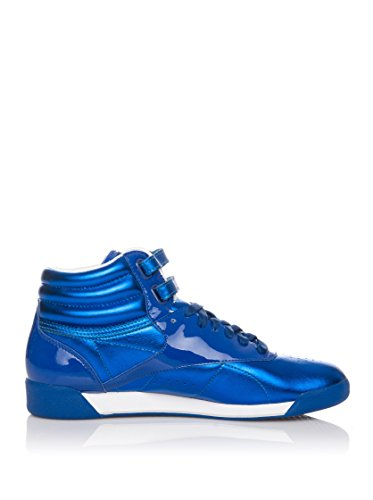 Reebok Freestyle Hi International metallizzato (blu metallizzato/bianco Blau