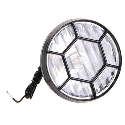6SlonHy Motorisierte Fahrrad Friction Dynamo Generator LED Kopf Rücklicht Lampenset Schwarz Regulär (Motorisierte Fahrrad-kit)