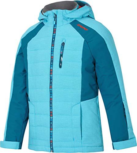 Ziener Kinder Skijacke blau 116   04059749000907
