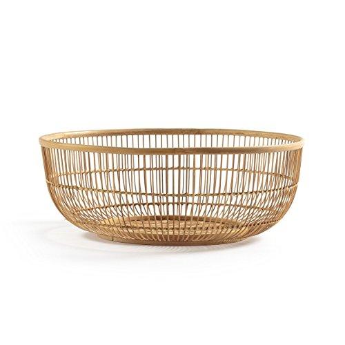 La redoute am.pm cesto in bambu 35 cm, milise taglia unica beige