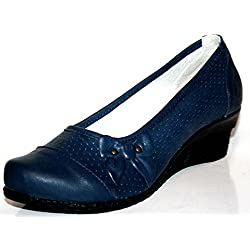 Romika Chantal04 29204 538 Damen Pumps (41, Blau (navy 538))