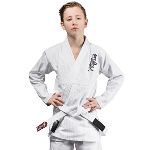 Venum Kinder Contender Kids BJJ Anzug, Weiß, C3 (Kinder Jiu-jitsu Gi-mädchen)
