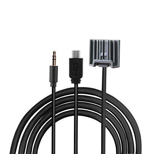 EX1 3,5mm AUX et Micro USB Connecteur Audio Musique MP3 Câble de Charge pour Honda CRV Civic Accord Pilot