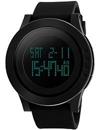 Skmei Digital Black Dial Men's & Boy's Watch - Skmeimw74A