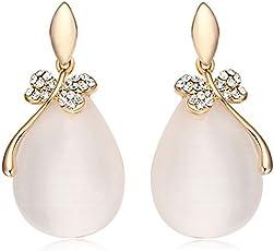 Shining Diva Fashion AAA High Quality Stylish Fancy Party Wear Earrings For Women & Girls
