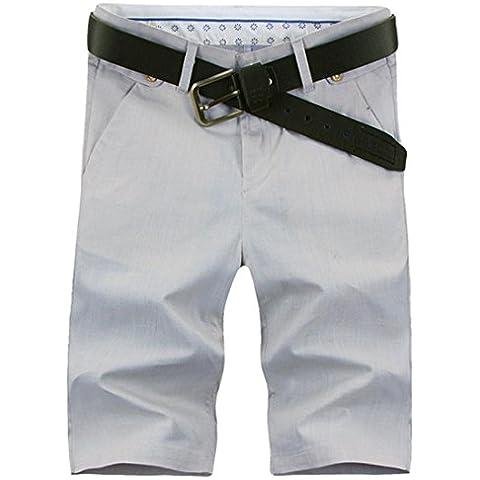 Jeansian Estate Tendenze Moda Uomo Sport Casuale Pantaloncini Calzoncini Corti Shorts S370