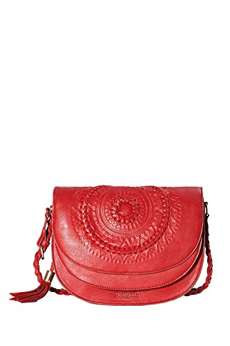 DESIGUAL - Femme sac a bandouliere turin patricia rouge