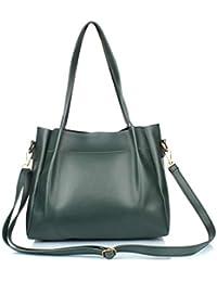 Mammon Latest Sling Bag Handbag for Girls/Woman(SLG-Tricot-Belt-Green)