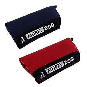 FLAMEER 2pcs Manche De Morsure De Chien Intermédiaire pour La Formation De Berger Allemand Schutzhund Mordant
