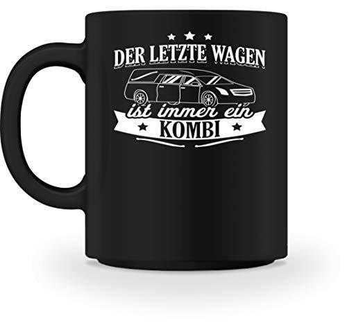 Chorchester Der Letzte Wagen Ist Immer Ein Kombi - Tasse -M-Schwarz