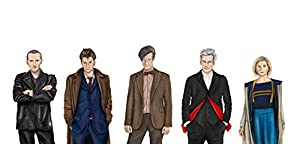 Doctor Who Art Print | A4 size | Hand Drawn Illustration