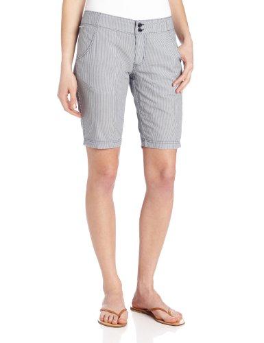 Frauen Super Bonehead Short, 10/10, Collegiate Navy / Kleiner Streifen Frauen Shorts Von Columbia