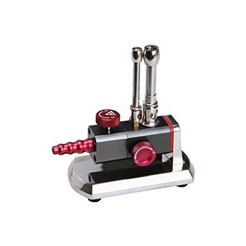 denshine Professionelle Micro Bunsenbrenner Doppelrohr drehbar Gas Propan Licht Dental Lab Equipment Klinik Gebrauch