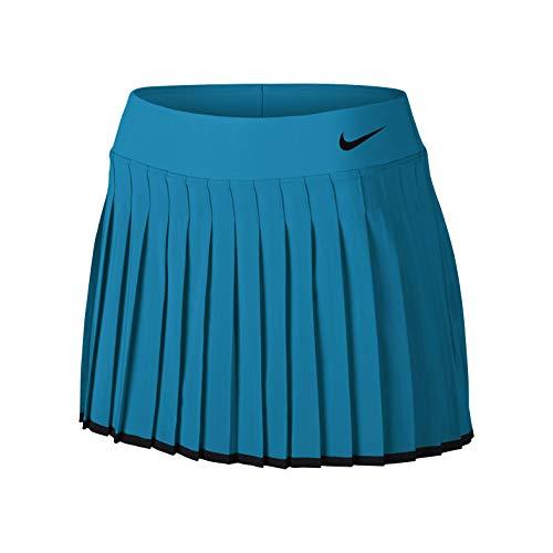 Nike Damen Court Victory Skirt Women Röcke, türkis, S Court Womens-rock