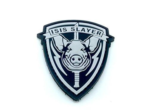 ISIS Slayer Cochon Noir Airsoft Velcro PVC Patch
