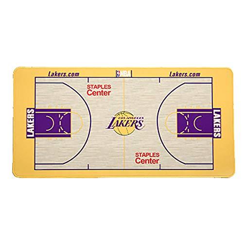 Basketball Laker Design Mauspad, Oversized Basketball Team Kreative Geschenke, Rakete, Sporen, Krieger, Ritter, Basketball Geschenk Tischmatte Dekoration Lakers