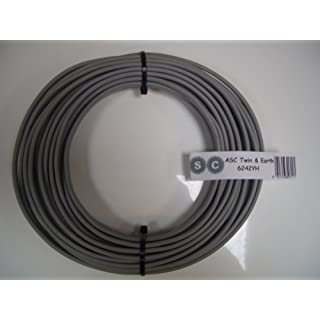 10m of 6mm Twin and Earth Electrical Cable for Ovens and Cookers by ascl